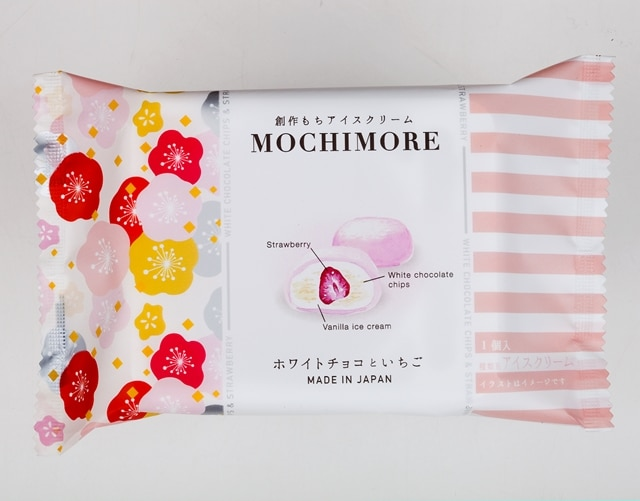MOCHIMORE WHITE CHOCOLATE CHIPS & STRAWBERRY